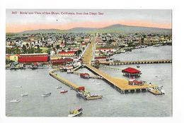 SAN-DIEGO - Bird's-eye View Of San-diego, From The Diego Bay -    - L 1 - San Diego