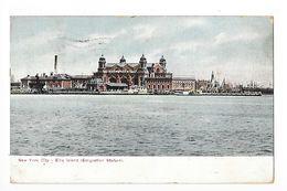 NEW YORK City - Ellis Island (Emigration Station) -    - L 1 - Ellis Island