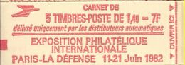 2102 C2 1F40 SABINE DE GANDON ROUGE IMPECCABLE - Markenheftchen