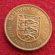 Jersey 1/2  Half  Penny 1980 Uncºº - Jersey