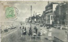 Blankenberge Blankenberghe - La Dique Et La Plage - Phob - 1919 - Blankenberge