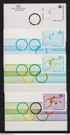 E 120 HORDENLOPEN 4 KLEURPROEVEN POSTFRIS** 1971 A86 - Commemorative Labels