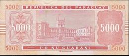 PARAGUAY P223 5000 GUARANIES 2010 UNC. - Paraguay