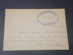 "GRANDE BRETAGNE - Carte En Franchise En 1973 , "" Embarke Mission PO Plumtree "" - L 10577 - Marcofilie"