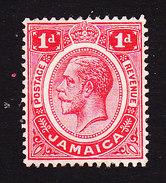 Jamaica, Scott #61, Mint No Gum, George V, Issued 1912 - Jamaica (...-1961)