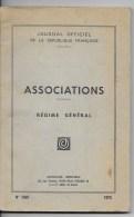 Associations, Régime Générale - Droit