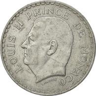 Monaco, Louis II, 5 Francs, 1945, Poissy, TTB, Aluminium, KM:122, Gadoury:MC135 - Monaco