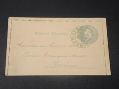 ARGENTINE - Entier Postal , Carte Lettre Illustrée Au Dos , De San Carlos Pour Rosario En 1899 - L 10583 - Entiers Postaux