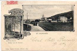 68 ALTKIRCH        Strasse Nach St MORAND - Altkirch
