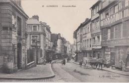Bl - Cpa LISIEUX - Grande Rue - Lisieux