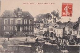 Bl - Cpa ROUTOT (Eure) - La Mairie Et La Place Du Marché - Routot
