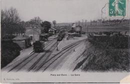Bl - Cpa PACY Sur Eure - La Gare - Pacy-sur-Eure