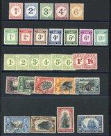 BRITISH COMMONWEALTH Postage Due Sets From British Solomon Islands 1940 Set (excl. 1s), Fiji 1943 Set M, Nyasaland 1950  - Non Classés