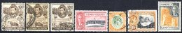 BRITISH COMMONWEALTH KGVI Definitives VFU - Cayman Islands 1938 Set + Extras Incl. 10s (3), 1950 Set, Ceylon 1938-49 Set - Unclassified