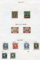 EUROPE - Austria 1932-60's, Belgium 1861-1930's, Greece 1940's-60's, Portugal 1860's-1940's M & U Ranges On Leaves, Incl - Non Classés