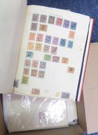 ACCUMULATION With Album Of Russian Area, Earlier Issues, Covers & Cards, Useful Stamps In Packets On Cards Etc. Sudan Gr - Unclassified