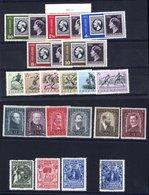 FOREIGN Sets Austria 1932 Painters Set M, SG.693/8 (Cat. £200), Liechtenstein 1932 Youth Charities Set M, SG.118/20 + Ex - Unclassified