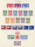 BASUTOLAND & BECHUANALAND Complete. (66) Cat. £460 - Unclassified