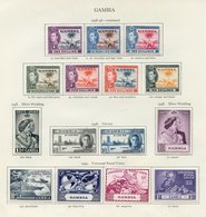 DOMINICA & GAMBIA, Both Complete. (75) Cat. £343 - Unclassified