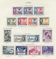 DOMINICA & GAMBIA, Both Complete. (75) Cat. £343 - Non Classés