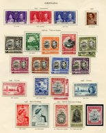 GRENADA Complete Incl. Some Perf Variations/shades Etc. (53) Cat. £440 - Unclassified
