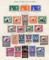 KENYA, UGANDA, TANGANYIKA Complete Incl. Perf Variations Etc. (70) Cat. £2500 - Unclassified