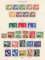 MALTA Complete (59) & MALDIVES (9). Cat. £270 - Unclassified