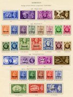 MOROCCO AGENCIES - Tangier & Muscat Complete. (156) Cat. £690 - Unclassified
