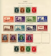 NABHA 1938-39 To 10r, 1941-45 Set, 1942-45 Set. OFFICIALS Complete. (48) Cat. £800 - Non Classés