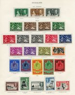 NYASALAND PROTECTORATE Complete Incl. Extra 5s & 10s Shade. (55) Cat. £920 - Unclassified