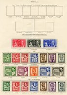 SOMALILAND Complete. (46) Cat. £259 - Unclassified