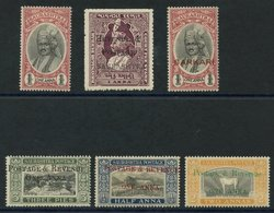 SORUTH (6 Different) SG.57/61 & O8. (6) Cat. £108 - Unclassified