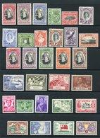 TONGA Complete, TRINIDAD & TOBAGO Complete Except For 1944-45 Dues, Incl. 1947-42 Set. TRISTAN 1952 Set. (79) Cat. £438 - Non Classés