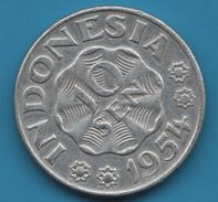 INDONESIA 10 SEN 1954 KM# 6 - Indonesia