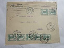 Lettre Du Maroc Pour La France 9/11/1934 - Morocco (1956-...)