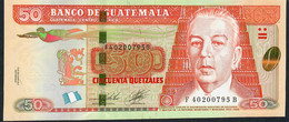 Guatemala NLP 50 Quetzales 2.5.2012 Issued  2014 Coffee Bean In OVI Unc. - Guatemala