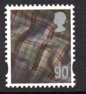 GB Scotland 2003-17 90p Tartan Regional Country, With Border, MNH (SG S123) - Regional Issues