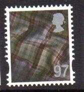 GB Scotland 2003-17 97p Tartan Regional Country, With Border, MNH (SG S124) - Schottland