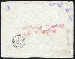 BOER WAR/SHIPWRECK 1900 Cover To England Written By A Member Of Lumsden's Horse, With A 1d Cancelled East London MR.27.0 - Unclassified