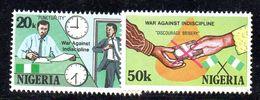 Y222 - NIGERIA 1985 , Serie 458/459  *** - Nigeria (1961-...)