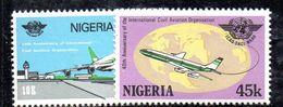 Y362 - NIGERIA 1984 , Serie 457A/B  *** - Nigeria (1961-...)