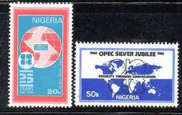 Y416 - NIGERIA 1985 , Serie 463/464  ***  SILVER - Nigeria (1961-...)