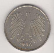 5 MARK 1990 F  FAKE GERMANY - 5 Mark