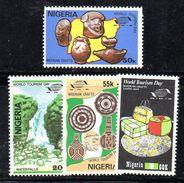 Y832 - NIGERIA 1985 , Serie 465/468  *** - Nigeria (1961-...)