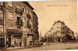 2 CPA  St. Gilles  Rue Courbe    Home Jourdan - St-Gilles - St-Gillis