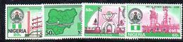 Y1191 - NIGERIA 1985 , Serie 469/472  ***  PETROLIO - Nigeria (1961-...)