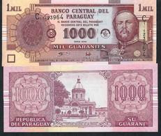 PARAGUAY P222a 1000 Guaranies 2004 Unc... - Paraguay