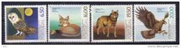 PORTUGAL - 1980 - Yvert 1468/1471 ** - Animaux - 1910-... República