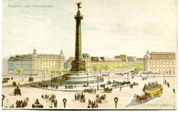 CARTE TRANSPARENTE(PARIS) - Halt Gegen Das Licht/Durchscheink.