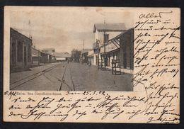 BEIRA - MOCAMBIQUE / 1902 CPA RUA CONSELHEIRO ENNES POUR STRASBOURG - ALSACE(ref LE1887) - Mozambique